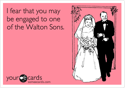 I fear that you may 