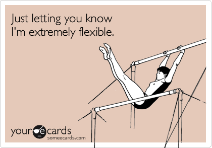 Just letting you know