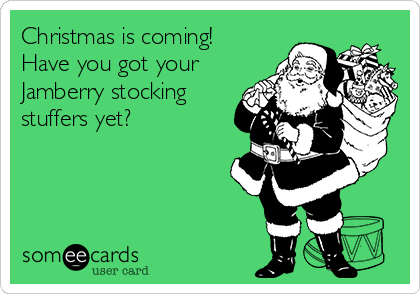 Christmas is coming! Have you got your Jamberry stocking stuffers yet?