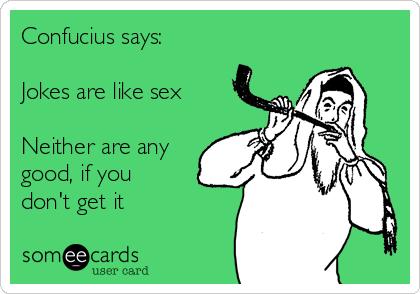 Good sex jokes