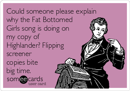 A big fat bottom