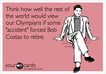 Think how well the rest of