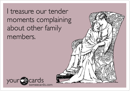 I treasure our tender