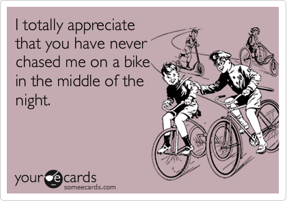 I totally appreciate