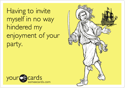 Having to invite