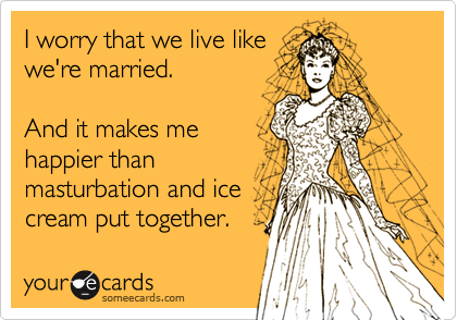 I worry that we live like