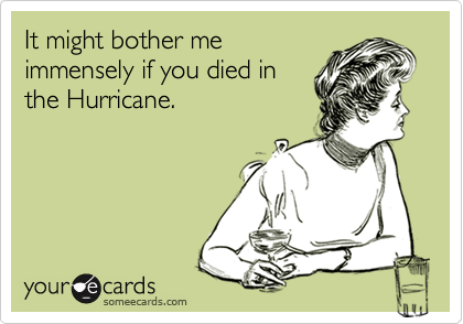 It might bother me