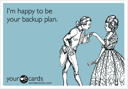 I'm happy to be