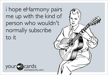 i hope eHarmony pairs
