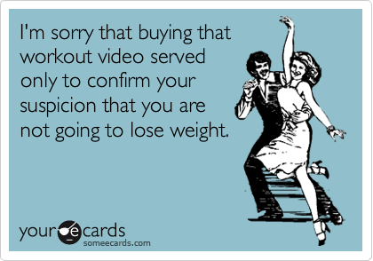 I'm sorry that buying that