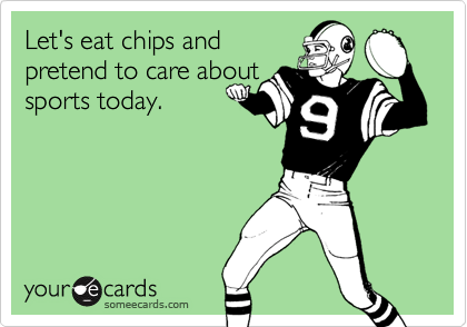Let's eat chips and