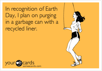 In recognition of Earth