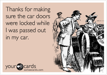 Thanks for making