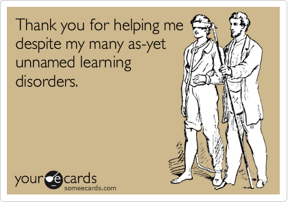 Thank you for helping me