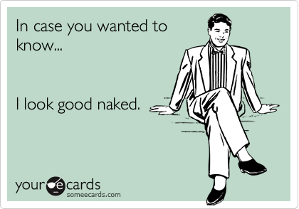 In case you wanted to