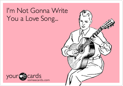I'm Not Gonna Write