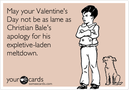 May your Valentine's