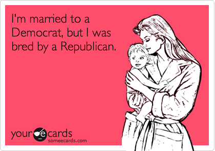 I'm married to a