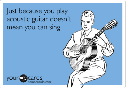 Just because you play