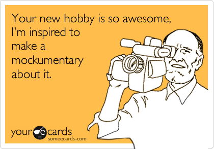 Your new hobby is so awesome, I'm inspired to