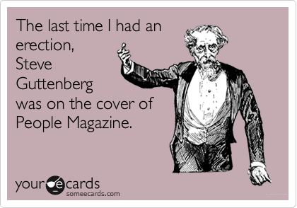 The last time I had an