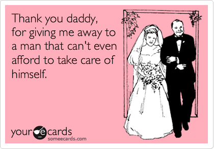 Thank you daddy, 