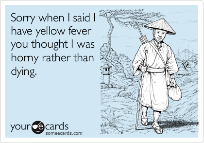 Sorry when I said I