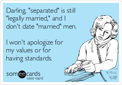 Dos and donts of dating a married man who is separated