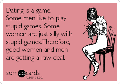 dating games men play