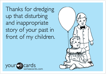 Thanks for dredging