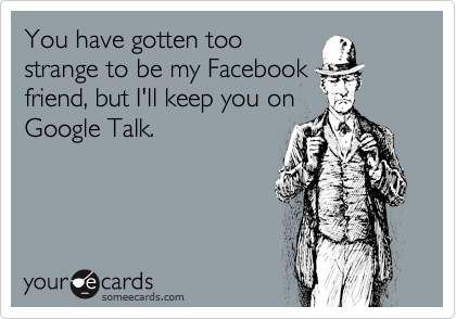 You have gotten too