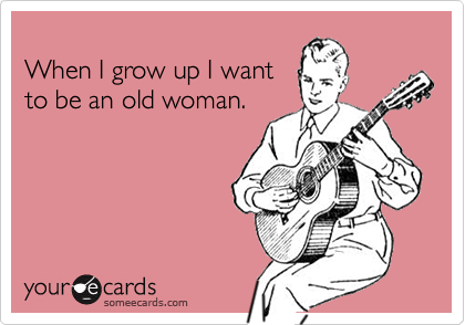 When I grow up I want
