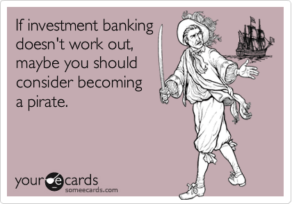 If investment banking