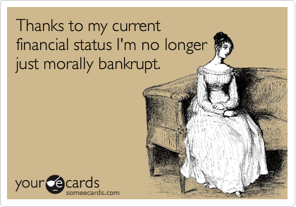 Thanks to my current