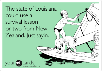 The state of Louisiana