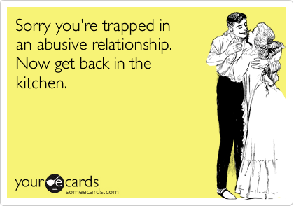 Sorry you're trapped in