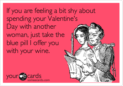 If you are feeling a bit shy about spending your Valentine's