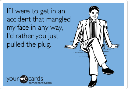 If I were to get in an