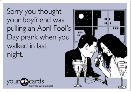 Sorry you thought