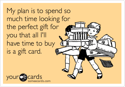 My plan is to spend so 