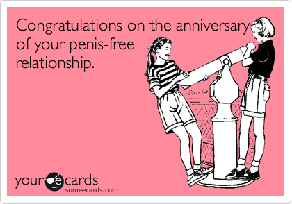 Congratulations on the anniversary