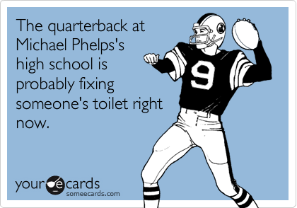The quarterback at