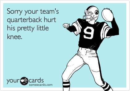 Sorry your team's