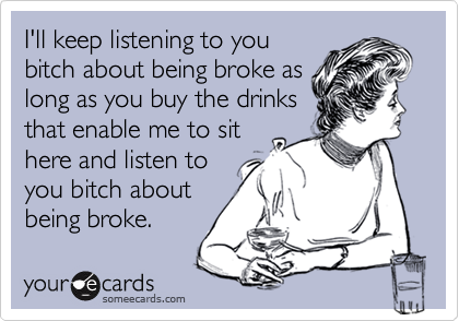 I'll keep listening to you