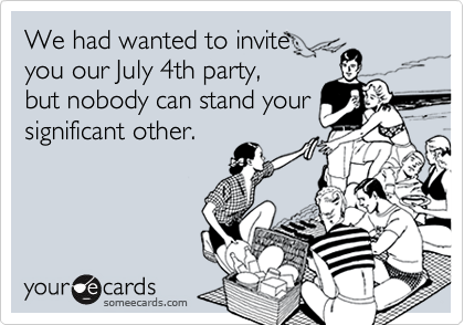 We had wanted to invite