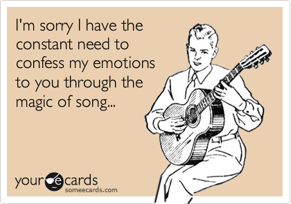 I'm sorry I have the