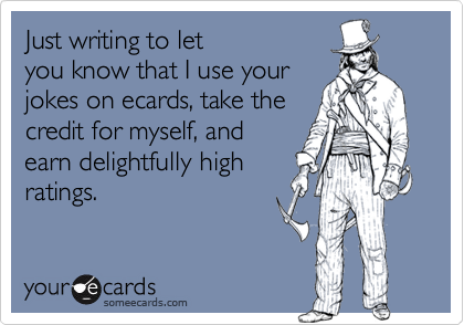 Just writing to let