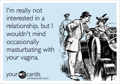 I'm really not