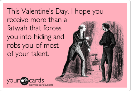 This Valentine's Day, I hope you receive more than a