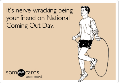 It's nerve-wracking being